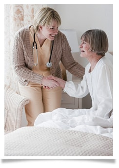 Keystonecare provides hospice care at home, at a healthcare facility, and at our inpatient care home