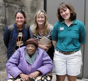 Hospice patient visits the Philadelphia Zoo