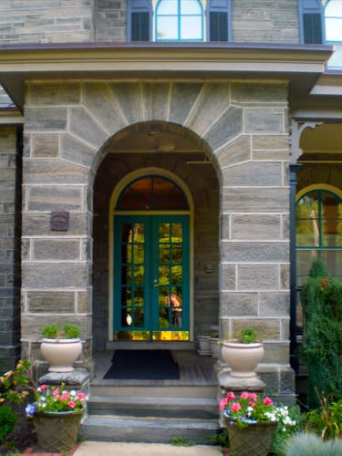 Front Entrance of Keystone House a residential hospice