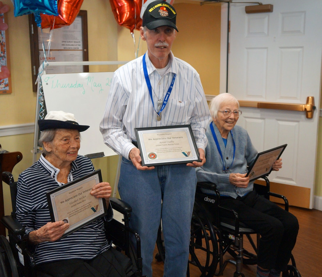 KeystoneCare Honors Veterans in Bryn Mawr